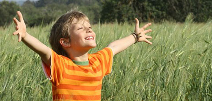 copil evoluat spiritual
