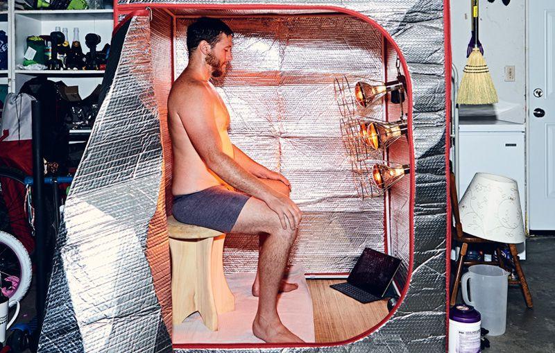 Sauna cu infrarosu apropiat, beneficii si terapie